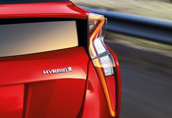 Toyota Prius 2016 Luces traseras LED