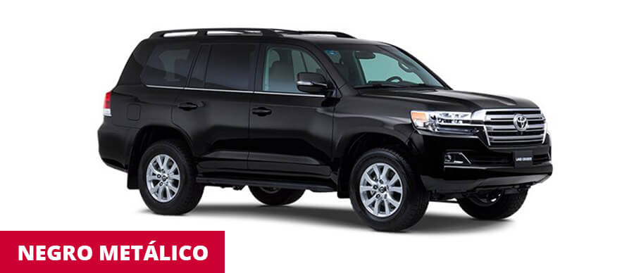 Land Cruiser Negro Metalico