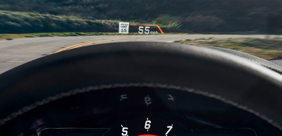 Head Up Display Supra