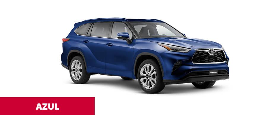 Toyota Highlander Azul