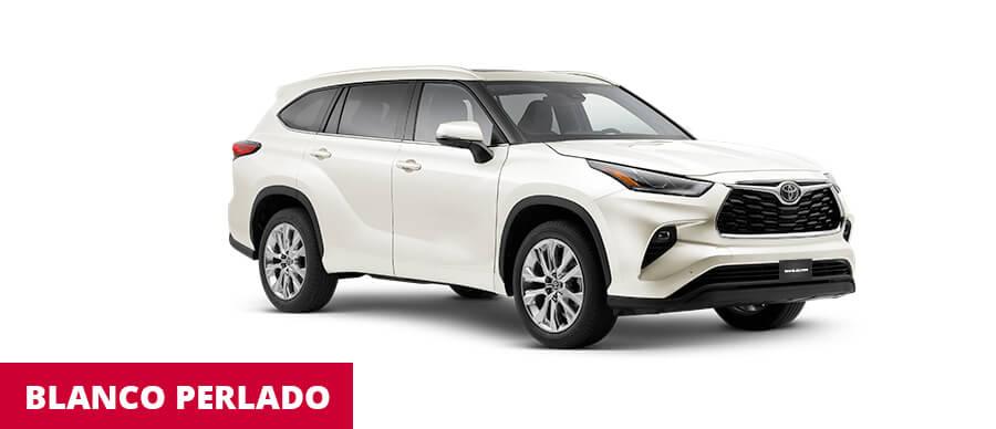 Toyota Highlander Blanco