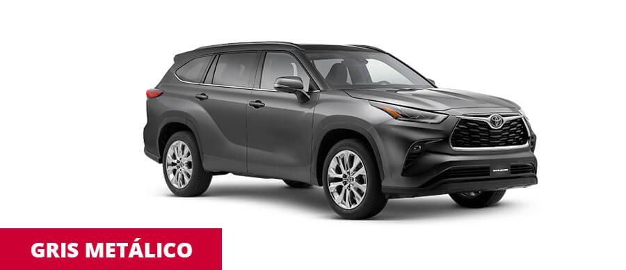 Toyota Highlander Gris