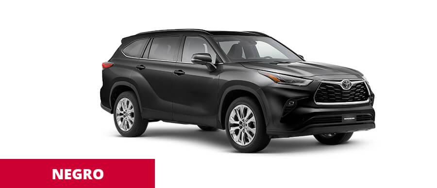 Toyota Highlander Negro