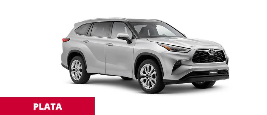 Toyota Highlander Plata