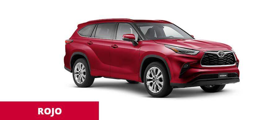 Toyota Highlander Rojo