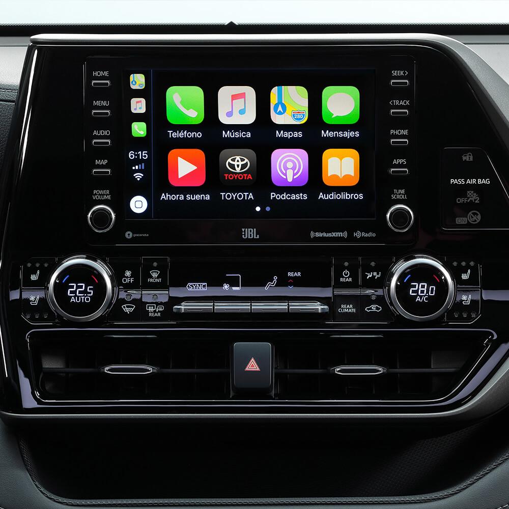Toyota Highlander Pantalla Táctil